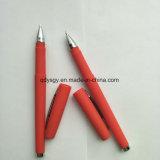 Crayon lecteur rouge de gel avec le point d'acier inoxydable de 0.7mm
