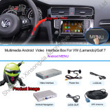 Automobile Video Interface Box per il VW Golf7/Passat/Leon Mqb System Android GPS Navigation Box
