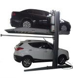 Equipamento de oficina mecânico do tirante dobro do carro do estacionamento para hidráulico