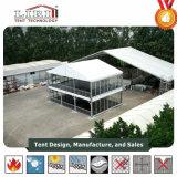 Zwei Fußboden-Zelt für Sportereignisse, doppelter Decker-Zelt für China geöffnet