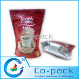 Levar in piedi in su Coffee Bag con Zipper per Instant Packaging