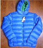 Venda por grosso revestimento almofadado de Inverno masculina, casaco para baixo
