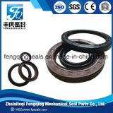 Sello con eje trasero del desgaste del soporte de petróleo del motor rotatorio del sello y de petróleo del rasgón