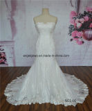 Оптовая цена шнурка платья венчания Mermaid французская