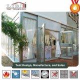 Praça do Comércio por grosso de luxo tendas de casamento com asas de dupla porta de vidro