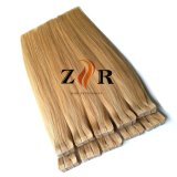 Farbe 27/613 doppelte gezeichnete chinesische Remy Haar-Band-Extensionen
