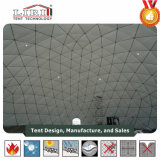 Половина области палатка используется для геодезических купол для проекции