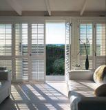 2018 Внутренних Дел плантации Basswood ПВХ деревянные окна жалюзи жалюзи