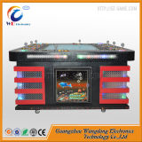 Máquina de juego de vector de los pescados del dragón verde del casino de la pesca