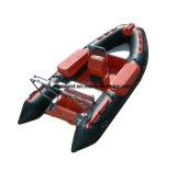 Bateau de sauvetage d'Aqualand 14feet 4.2m/vedette gonflables rigides de côte (RIB420b)