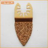 Het Blad van de Zaag van de Rasp van de Vinger van het carbide dat voor het Malen wordt gebruikt en etst Metselwerk