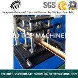 Placa do protetor do papel do canto do grânulo do ângulo que faz a máquina