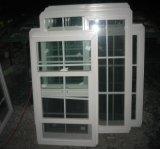 Erstklassige kundengerechte amerikanische Art Belüftung-einzelnes gehangenes Fenster mit Gitter