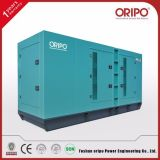 тепловозным генератор 530kVA/424kw приведенный в действие альтернатором электрический портативный