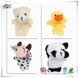 10pcs différents Cartoon Animal doigt marionnettes poupées de velours Props Jouets