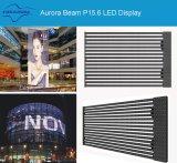 Schermo di visualizzazione della tenda di pubblicità esterna LED