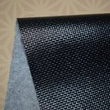 Cuero grabado armadura del PVC del brillo para la decoración del hogar de la pared