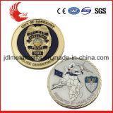 Fabrik-Preis-kundenspezifische Messingmilitärgedenkmünzen