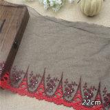 Mayorista de fresado de 20cm de hilo tejido bordado de encaje ropa textil accesorios