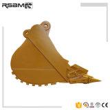 Excavadora de 1.200 kg cuchara estándar fabricada en China