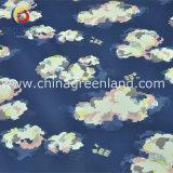 Хлопок полиэстер спандекс атласной ткани для печати по пошиву одежды Одежда (GLLML194)