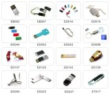 Memoria al por mayor del USB de madera con la insignia de la impresión por láser para la muestra libre