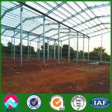 Structure en acier préfabriqués Warehouse au Mali avec une haute qualité