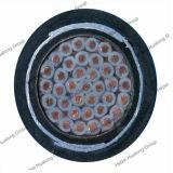32 Pares de 2,5 mm2 F-Cvv-Sb Cable apantallado de alambre de cobre del cable de mando blindado