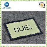 Etiqueta tecida personalizada com marca de tipo (JP-CL135)