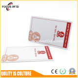 フルカラーの印刷を用いるLfそしてHf RFIDのコンボのカード