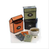 Tea verde Gift Packaging Box con Foil Stamping