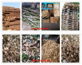 2-20tph Log/Sucursal/Palet/Caja de madera tipo tambor Chipping máquina biotrituradora