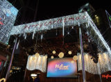 Tube de 74cm douche allume la LED de l'hôtel Raindrop-Like d'éclairage de décoration avec des étoiles.