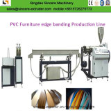 PVC 가구 가장자리 밴딩 장 단면도 생산 라인