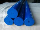 Nylon Staaf, Nylon Staven, PA6 Staven met Witte, Blauwe Kleur