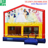 Direto da fábrica 0,5mm material PVC Castelo Princesa insufláveis Bouncers infláveis para venda o castelo de salto inflável para venda