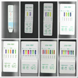 Copo do cartão do MERGULHO do dispositivo do teste da droga da urina de 10 painéis