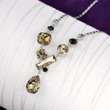Conjunto pendiente del collar de la joyería de la manera del Rhinestone de la aleación