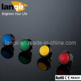 кнопка Swtich V12 металла черного цвета 12mm водоустойчивое, цвет дискретное