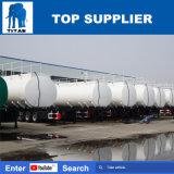 L'essieu Titan Tri 50000L'essence du réservoir de carburant de transport remorque semi pétroliers de brut de réservoirs de pétrole 50m3 pour la vente