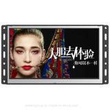 Pagina aperta fissata al muro Digital di Yashi che fa pubblicità affissione a cristalli liquidi portatile del bus al contrassegno 7 ''