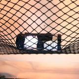 [فيبرغلسّ] سوداء/بيضاء يستعصي قشرة قذيفة سقف أعلى خيمة [كمب كر] سقف أعلى خيمة