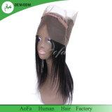 Stirnbeine des konkurrenzfähiger Preis-gerade brasilianische Jungfrau-Menschenhaar-360