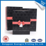 LuxuxPaper Rigid Cardboard Gift Box mit Ribbon Bowtie
