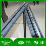 Double guichet en aluminium isolant d'inclinaison et de spire