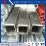 Tubo del quadrato dell'acciaio inossidabile di ASTM 304 per la decorazione