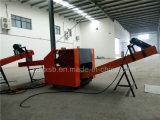 Máquina de estaca de esmagamento de couro do equipamento do equipamento azul de couro de couro da estaca do esmagamento