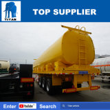 Titan Tri-Axle remorque de camion-citerne à carburant réservoir d'eau semi-remorque pétrolier
