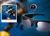 Gepolariseerde Zonnebril Bluetooth 4.1 TF van de Steun van de Hoofdtelefoon van de Oortelefoon Kaart SIM