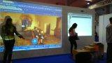 Bewegliche interaktive Whiteboard Baugruppe für Kategorien-Unterricht
